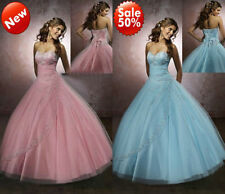 New Quinceanera Formal Prom Party Evening Sweetheart Ball Gown