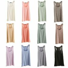 Sexy Women Summer Loose Sleeveless Casual Tank T-Shirt Blouse Tops Fashion Vest