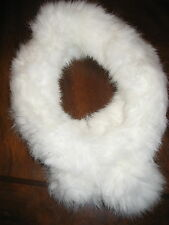 New Real rabbit fur winter scarf stole muffler collar neckerchief shawl Choice