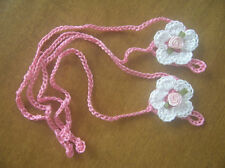 Baby Barefoot Sandals Crocheted Cotton Summer Sandals