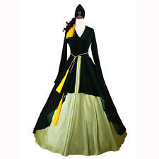Adult Scarlett OHara Costume Gone With The wind Cosplay Southern Ball Gown Dress