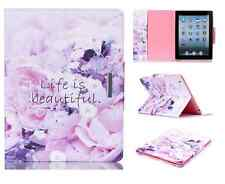 """UK Love Life Mangnetic Smart Stand Case Cover for iPad 2 3 4 Air Pro Mini 9.7"""""""