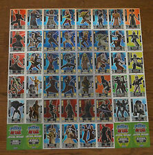 Force Attax Clone Wars Series 2 force Master choose Topps Star Wars Cards