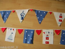 Nautical/Seaside and Spots Bunting