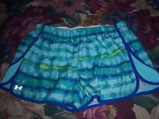 Womens Under Armour Semi Fitted Heat Gear Shorts Size L Large
