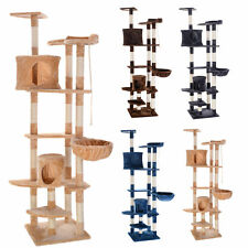 """New 80"""" Cat Tree Condo Furniture Scratching Post Pet Cat Kitten House 4 Colors"""