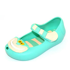 Summer Cartoon Girl's Cute Cheshire Cat Soft Jelly Toddler Kids Sandals Shoes