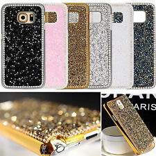 Luxury Bling Rhinestone Glitter Crystal Hard Back Case Cover For Samsung /Phone