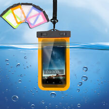 Universal Waterproof Dry Pouch Bag Case Cover For Cell Phone iPhone Touchscreen
