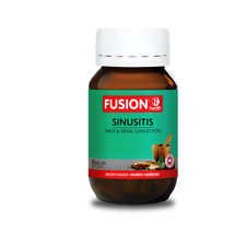 Sinusitis 30caps or 60caps by Fusion Heath -Relieve sinus pain, nasal congestion