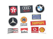 Embroidered Patch Embroidery sew on Logo Mark F1 Racing Motor Badage series 01