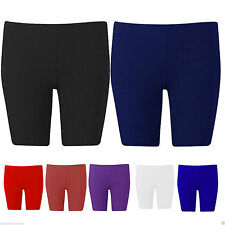 New Women Ladies Girls Kid Lycra Shiny Shorts Gymnastic Dance gym Running cycle