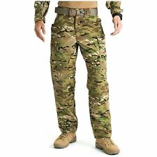 NWT's MULTICAM PANTS FRACU FLAME RESISTANT INSECT GUARD RIPSTOP WINDPROOF