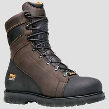 """Timberland PRO Boots Mens Rigmaster 8"""" Steel Toe Waterproof Work Boot 95553"""