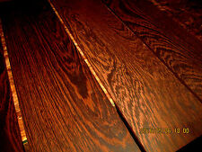 PACKAGES OF THIN PREMIUM KILN DRIED, SANDED EXOTIC WENGE LUMBER WOOD