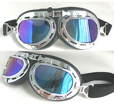 Pilot Skiing Motorcycle Folding Goggles Glasses Punk Fashion 4Colors Lens choice