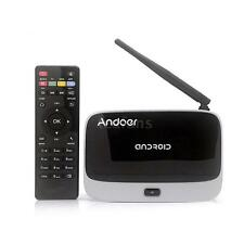 Andoer CS918 XBMC Android 4.4 TV Box Quad Core 2G/32G H.264 DLNA WiFi 1080P F4T7