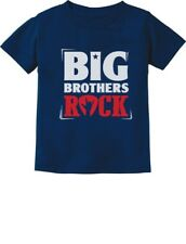 Boys Big Brothers Rock Best Siblings Gift Toddler/Infant Kids T-Shirt Cool