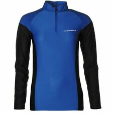 Ladies Muddyfox Long Sleeve Cycling Shirt Cycle Jersey Bike Top Blue - ALL SIZES