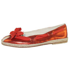 CORAL BLUE 2032 PEEP TOE BALLET FLATS NEW 50€ women summer shoes red