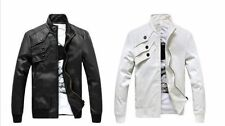 Hollywood Lamb skin Genuine Leather Jacket Motorcycle Jacket new fashion style