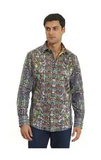 $498 NWT NEW Robert Graham Morty Limited Edition Mens Designer Sport Shirt