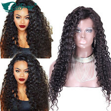 Unprocessed Virgin Human Hair Wig Lace Front Human Hair Curly Wigs Full Lace Wig