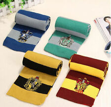 Harry Potter Gryffindor/Slytherin/Ravenclaw/Hufflepuff  Wool Scarf New Choice