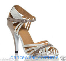 New Ladies Samba Prom Party Ballroom Latin Tango Salsa Dance Shoes Sandals US5-9