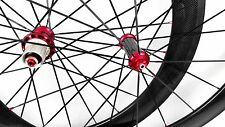 ultraLight 50mm carbon wheelset 700C clincher Powerway R36 hub road bike wheels