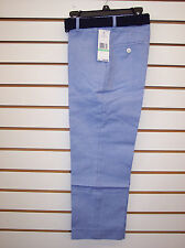 Boys Tommy Hilfiger $49.50 Med Blue Pants w/ Braided Belt Size 8 - 20