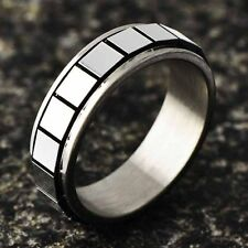 Stainless steel Filled womens mens boy Love Rings free shipping size 6 7 8 9