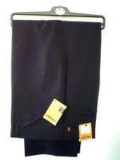 Farah navy trousers RRP £34.99 Classic frogmouth pocket-work -smart- golf