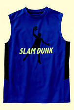 NWT Old Navy Active Boys' BASKETBALL Slam Dunk Muscle Sports Mesh Tee 8 / 14-16
