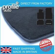 Car Mats Seat Ibiza 2006 - 2008 Black Fully Tailored  Rubber Carpet Colours