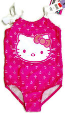 HELLO KITTY NWT Girls PINK One Piece Swimsuit - ADORABLE - SIZE 5