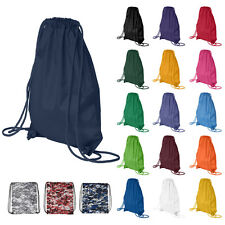 """Liberty Bags Drawstring Pack with DUROcord 8881 14""""x18"""" Bag Backpack Sack"""