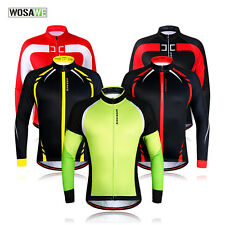 Cycling Thermal Fleece Cycling Jacket Windproof Sports Cycling Clothing Jersey