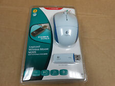 Logicool M205 Wireless Mouse Blue/ White 910-001174