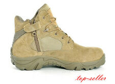 Men's Military Ankle Boots Tactical Lace Up Desert Combat Hiking Outdoor Shoes