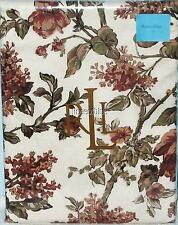 RALPH LAUREN TABLECLOTH GRACE FLORAL RUST GREEN 60 x 104, 60x 120 COUNTRY DINING