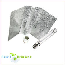New 95% reflective Bat wing reflector + HPS/MH 250/400/600w Grow Bulb Hydroponic