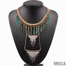 pendant for women bead chain choker chunky statement necklace jewelry wholesale