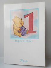 Winnie The Pooh Birthday Cards Girls / Boys /Aged Card - Various Designs