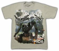 Boys Youth Silver Gray Science Fiction Movie The Avatar Machines Monster T-shirt