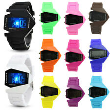 Fashion Womens Mens Digital LED Analog Quartz Alarm Date Sports Wrist Watch