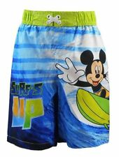 Disney Mickey Mouse Toddler Boy Swim Trunk - UPF 50+ - New