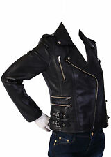 NEW Womens 100% Leather Lambskin Jacket Coat, Made to your Measurements - WJ65