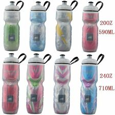 POLAR Bottle Bike Bicycle Cycling Insulated Water Bottle Mul-colors 24oz&20oz