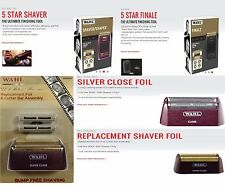 WAHL 5 Star Shaver/Shaper 8547/8061 Bump-Free Shaving (Replacement Foil)